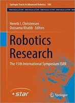Robotics Research: The 15th International Symposium Isrr