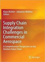 Supply Chain Integration Challenges In Commercial Aerospace