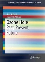 Ozone Hole: Past, Present, Future (Springerbriefs In Environmental Science)