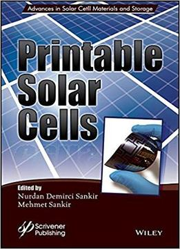 Lucrative image within printable solar cell
