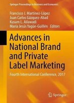 Advances In National Brand And Private Label Marketing: Fourth International Conference, 2017