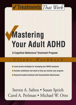 Cbt treatment for adult adhd