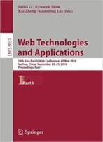 Web Technologies And Applications: 18th Asia-Pacific Web Conference, Part I