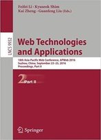 Web Technologies And Applications: 18th Asia-Pacific Web Conference, Part Ii