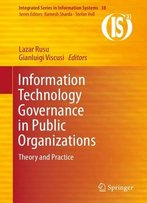 Information Technology Governance In Public Organizations: Theory And Practice