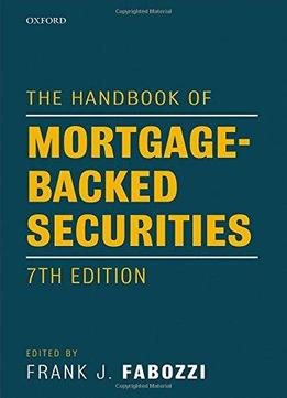 SECURITIES FABOZZI HANDBOOK MORTGAGE-BACKED OF PDF