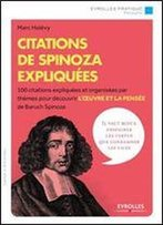 Citations De Spinoza Expliquees