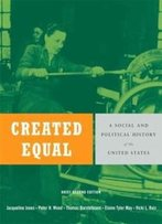 Created Equal: A Social And Political History Of The United States, Brief Edition, Combined Volume (2nd Edition)