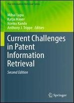 Current Challenges In Patent Information Retrieval (The Information Retrieval Series)