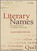 Literary Names - Personal Names In English Literature