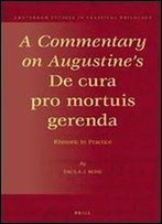 A Commentary On Augustine's De Cura Pro Mortuis Gerenda : Rhetoric In Practice (Amsterdam Studies In Classical Philology)