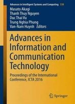 Advances In Information And Communication Technology: Proceedings Of The International Conference, Icta 2016 (Advances In Intelligent Systems And Computing)