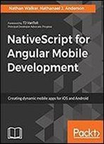 Mastering Nativescript Mobile Development
