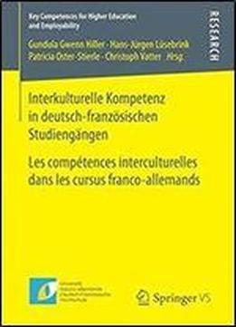 interkulturelle kompetenz in deutsch franzosischen. Black Bedroom Furniture Sets. Home Design Ideas