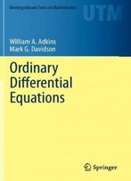 Ordinary Differential Equations (Undergraduate Texts In Mathematics)
