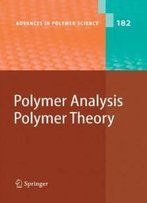 Polymer Analysis/Polymer Theory (Advances In Polymer Science)