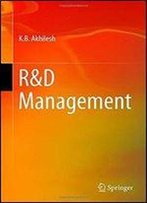 R&D Management (Management For Professionals)