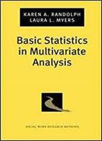 Basic Statistics In Multivariate Analysis (Pocket Guide To Social Work Research Methods)