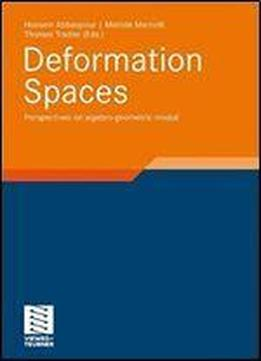 Deformation Spaces Perspectives On Algebro-geometric Moduli