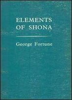 Elements Of Shona