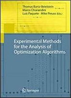 Experimental Methods For The Analysis Of Optimization Algorithms
