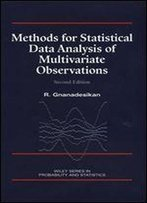 Methods For Statistical Data Analysis Of Multivariate Observations, Second Edition