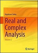 Real And Complex Analysis: Volume 2