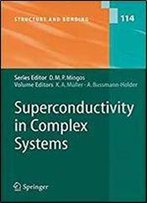 Superconductivity In Complex Systems (Structure And Bonding)