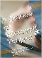 A Glance At Microsoft Project: One Day Rapid Learning Series: Ms-Project