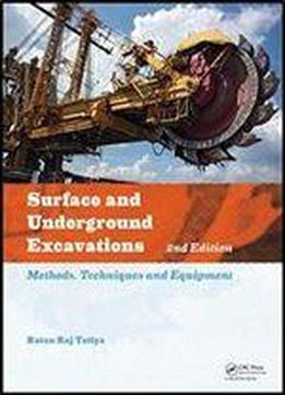 Surface And Underground Excavations, 2nd Edition