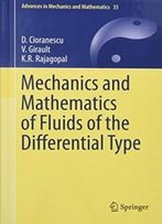 Mechanics And Mathematics Of Fluids Of The Differential Type (Advances In Mechanics And Mathematics)