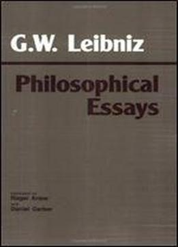 Essay On Military Leadership Leibniz Philosophical Essays Hackett Classics Essay Writing On Environment also Exercise Essay Writing Leibniz Philosophical Essays Hackett Classics Download Essay About Environment