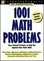 1001 Math Problems 1st Edition