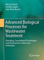 Advanced Biological Processes For Wastewater Treatment: Emerging, Consolidated Technologies And Introduction To Molecular Techniques
