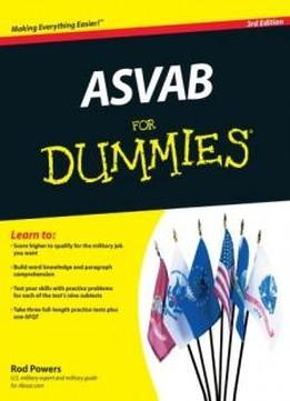 For asvab pdf afqt dummies