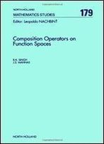 Composition Operators On Function Spaces (North-Holland Mathematical Library)