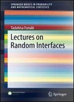 Lectures On Random Interfaces (Springerbriefs In Probability And Mathematical Statistics)