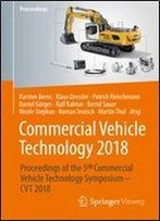 Commercial Vehicle Technology 2018: Proceedings Of The 5th Commercial Vehicle Technology Symposium - Cvt 2018 (German And English Edition)