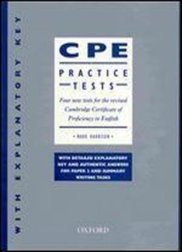 cpe certificate template - cpe practice tests with explanatory key four new tests