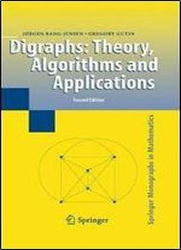 Digraphs Theory Algorithms And Applications Springer Monographs In Mathematics Download