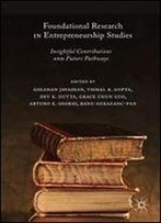 Foundational Research In Entrepreneurship Studies: Insightful Contributions And Future Pathways