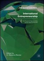 International Entrepreneurship: The Pursuit Of Opportunities Across National Borders (Jibs Special Collections)
