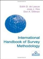 International Handbook Of Survey Methodology (European Association Of Methodology Series)