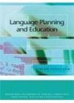 Language Planning And Education (Edinburgh Textbooks In Applied Linguistics)