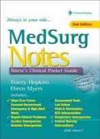 Medsurg Notes: Nurse's Clinical Pocket Guide (Davis's Notes)