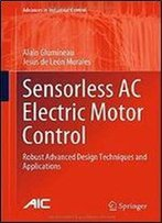 Sensorless Ac Electric Motor Control: Robust Advanced Design Techniques And Applications (Advances In Industrial Control)