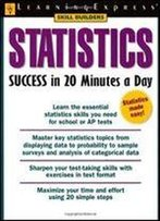 Statistics Success In 20 Minutes A Day (Skill Builders)