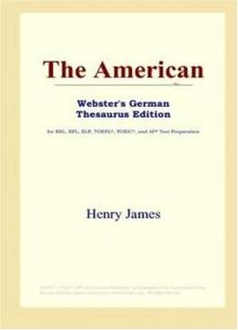 The American (webster's German Thesaurus Edition)