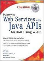 Developing Web Services With Java Apis For Xml (Jax Pack) With Cdrom