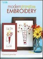 Modern Primitive Embroidery (Leisure Arts #4424)